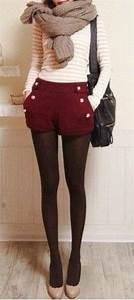 European style fashion joker woolen hot pants _Short u0026 Hot ...