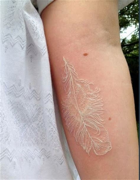 what gives skin its color 50 beautiful white ink tattoos tattoos ideas k