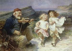 A Dance for the Fiddler Art Print by Frederick Morgan at ...