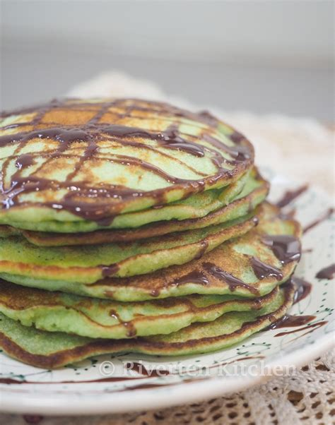 I thought of using them for pandan pancakes and my first attempt at making pancakes and turned out nicely. Moist Pandan Pancake with Nutella - Riverten Kitchen