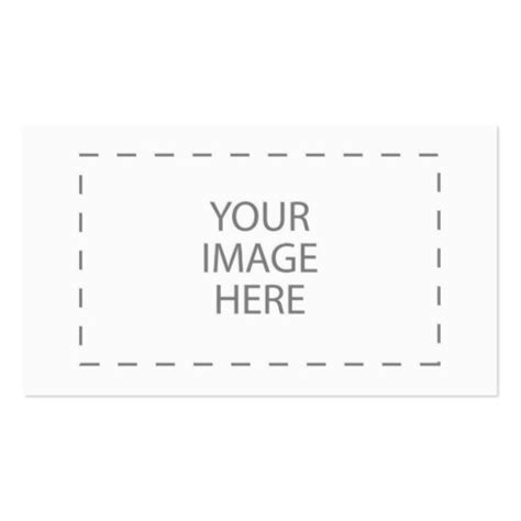 make your own cards template create your own sided standard business cards pack of 100 zazzle