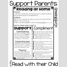 Parent Support For At Home Reading & Back To School Parent Input Form Freebie  Growing Firsties
