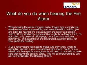 Fire Marshall Training For All Fire Marshalls In Lambeth