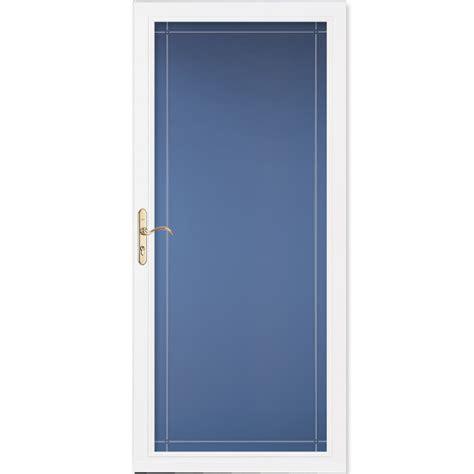 Shop Pella Select White Fullview Aluminum Standard Storm. Browning Vault Door. Modern Exterior Sliding Glass Doors. Door Alarms. Fire Door. Roll Up Door Prices. Dog Door In Garage Door. Roller Garage Door Lock. Glass Door Replacement