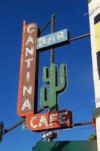 Tonys Vintage signs neon pinstripe on Pinterest