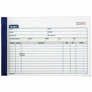 adams 5840 dc5840 invoice book 2 part carbonless 50 sets With carbonless invoice books