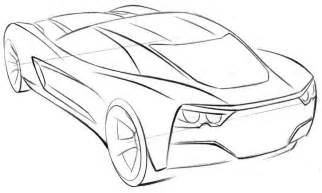 car coloring page corvette pages cars 586151 coloring - Corvette Coloring Pages Printable