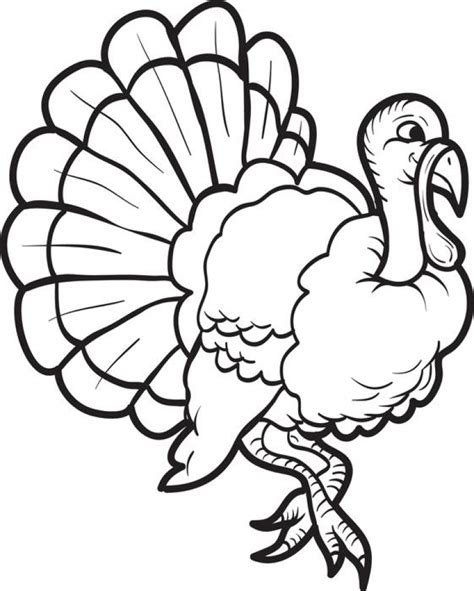 Turkey Coloring Pages by Get This Turkey Coloring Pages Printable 85612