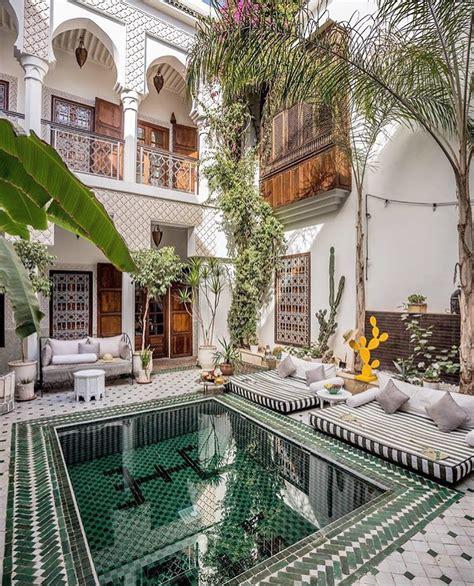 chambre design de luxe riad yasmine