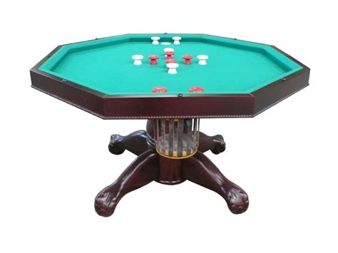 bumper pool table for sale 3 in 1 table octagon 48 quot table with slate bumper pool