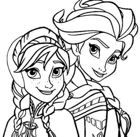 A just because little present for my 5 year old niece, who loves frozen. Get This Free Coloring Pages of Princess Anna from Disney ...