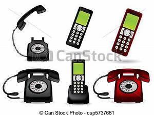Telephone Sans Fil Vintage : retro vect t l phone sans fil t l phone ~ Teatrodelosmanantiales.com Idées de Décoration