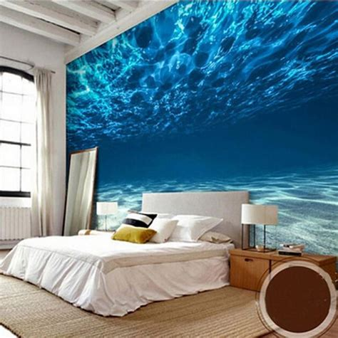 underwater deep sea theme wallpaper  walls ocean