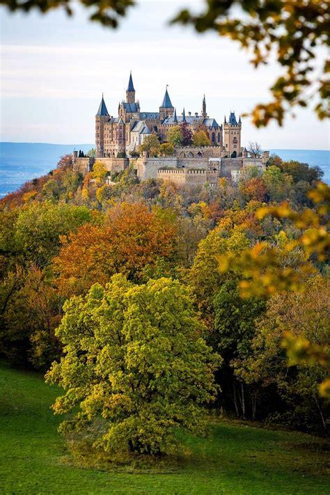 Autumn Hohenzollern Castle South Of Stuttgart Germany