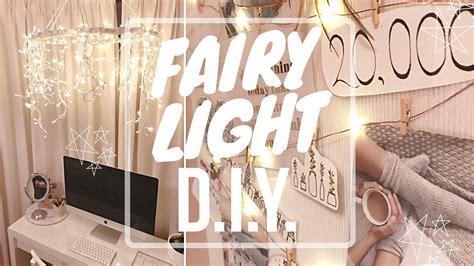fairy light decor diys gorgeous ways   christmas