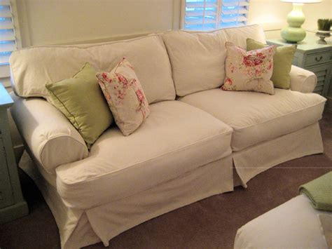 shabby chic sofa ideas shabby chic cottage slipcovered sofa traditional sofas