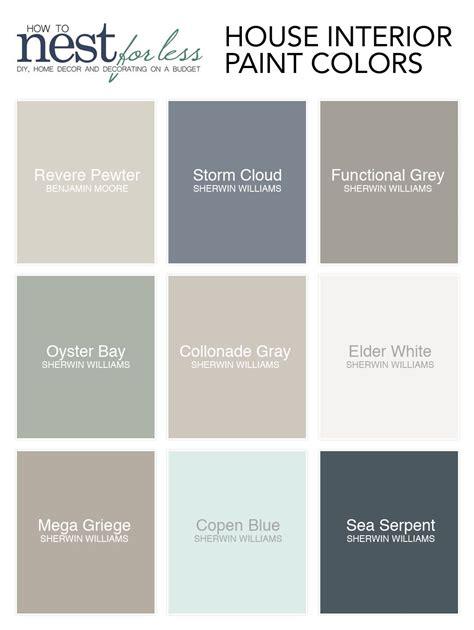 paint colors interior decoratingspecial