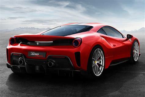 Meet The Ferrari 488 Pista And Its 711 Hp V 8 Motor Trend