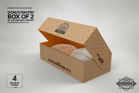 Free chopsticks packaging mockup psd. VOL 11: Paper Food Box Packaging Mockup Collection By INC ...