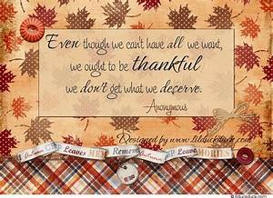 Inspirational Quote For Thanksgiving Season, Fall Themed ...