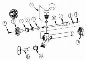 Woodford Model 17 Repair Parts Diagrams