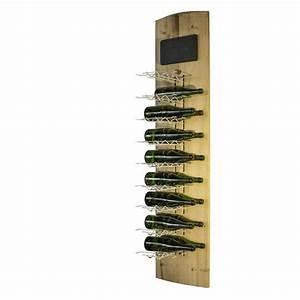 Range Bouteille Mural : range bouteille vertical bois et metal achat vente meuble range bouteille range bouteille ~ Teatrodelosmanantiales.com Idées de Décoration