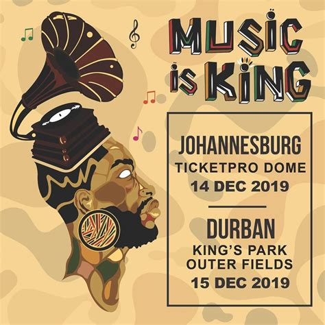 Black Coffee Takes 'Music Is King' 2019 To Johannesburg ...