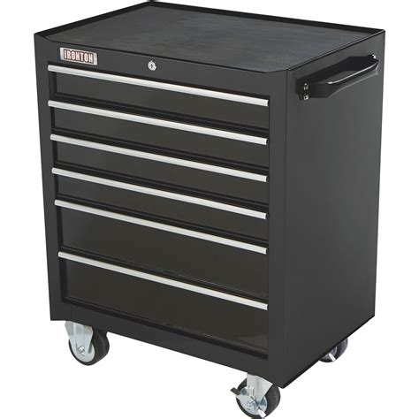 tool cabinets on wheels ironton 26in 6 drawer rolling bottom tool chest 26 13