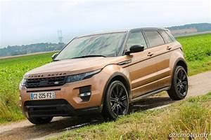 Land Rover Les Ulis : essai range rover evoque sd4 le plus s duisant des suv ~ Gottalentnigeria.com Avis de Voitures