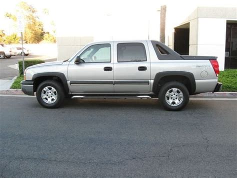 chevrolet avalanche 1500 california 9 sell used 2004 chevrolet avalanche 1500 z66 fully loaded