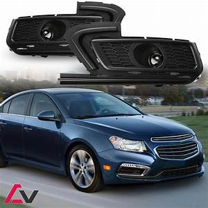 2015 2016 Chevy Cruze Fog Lights Clear Lamp Bulbs Wiring Harness Switch