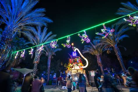 l a zoo lights a dazzling returns bigger