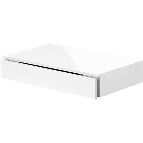 Floating Shelf With Drawer 450x250x80mm Mastershelf