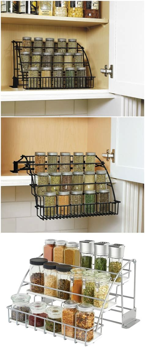 Spice Storage For Cupboards by 20 Spice Rack Ideas For Both Roomy And Cred Kitchen