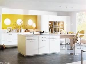 idees deco pour une cuisine chic et elegante elle decoration With idée décoration mur de cuisine