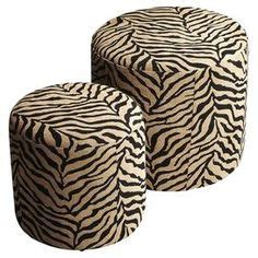 large animal print ottoman 1000 images about stools hassocks and poufs on pinterest