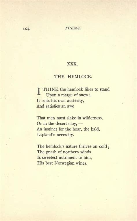 dickinson emily poems djvu 1890 poetry quotes norwegian hemlock nature quotesgram upload wines him