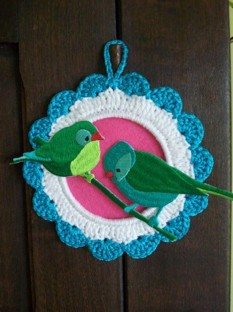 crochet picture frames images  pinterest