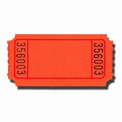 Ticket Tickets Raffle Blank Clipart Arcade Roll