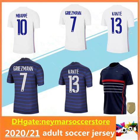 Buy your mbappe jersey from soccerpro.com! 2020 20/21 France Adult Soccer Jersey MBAPPE GRIEZMANN ...