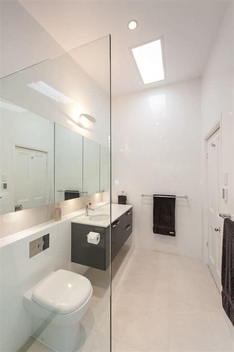 Modern Minimalist Bathroom Lighting by Light Minimalist And Contemporary Bathroom Design