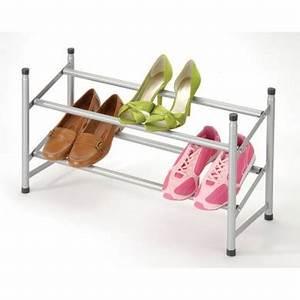 Range Chaussure Metal : boite de rangement rangement des chaussures ~ Teatrodelosmanantiales.com Idées de Décoration