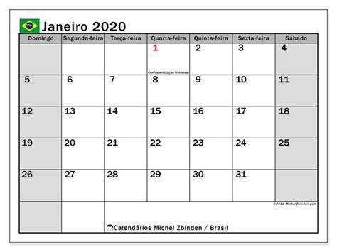 calendario janeiro brasil michel zbinden pt