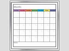 Calendar Dry Erase Board – Calendar Template 2019