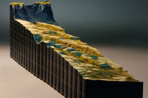 Artist Turns 24volume Encyclopedia Britannica Set Into A