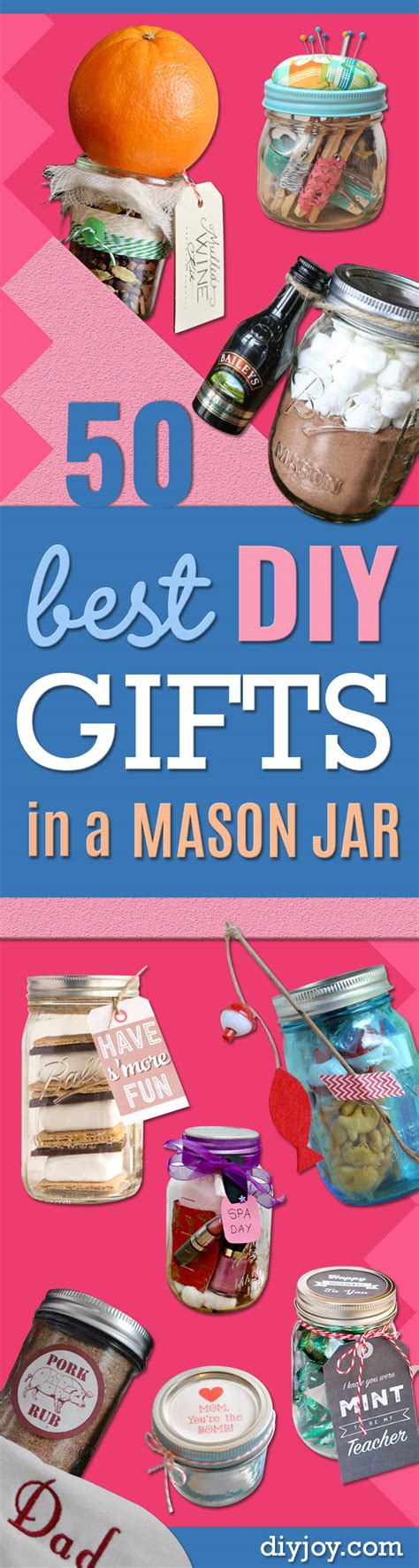 gifts for your best 50 best diy gifts in jars Diy