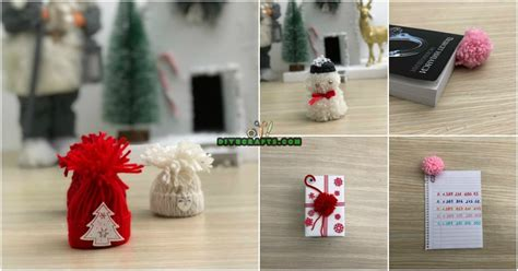 easy diy christmas yarn crafts  spread holiday cheer