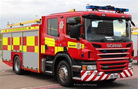 scottish fire rescue service scania p water rescu