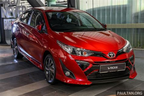 toyota vios launched  malaysia rmk rmk