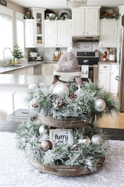 25  unique Christmas kitchen decorations ideas on